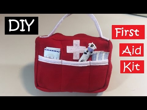 DIY First Aid Kit / How to make bag/ Emergency Bag  #34