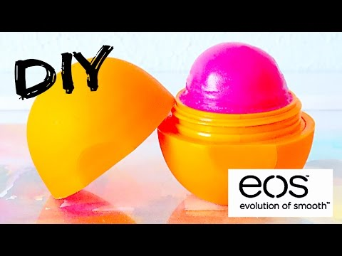 DIY tinted EOS lip balm! EASY