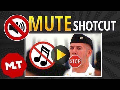 Shotcut: How To Mute Audio 🔇