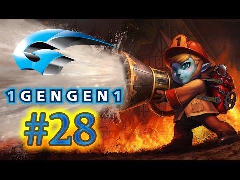 League Of Legends ARABIC Tristana لول رانكد :#28 رجل الاطفاء