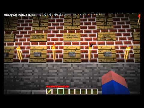 Minecraft SMP Automatic Minecart Station