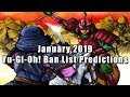 Download Video Download January 2019 Yu-Gi-Oh! Ban List Predictions 3GP MP4 FLV