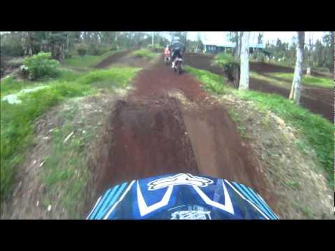 Fun Backyard Dirtbike track