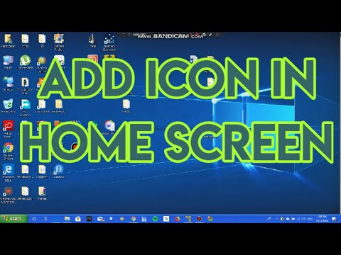 #16 Windows 10: How to add Icons in Desktop(working area)  #computerrepair #computerrepair #techtip