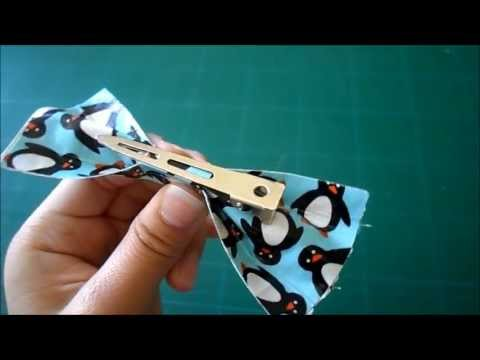 DIY Duct Tape Bow/Hair Clip