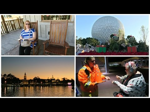 USA Trip - Day 9 :  Disney Springs & EPCOT at night