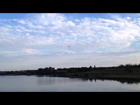 Powered Parachute Over Walnut Creek Lake