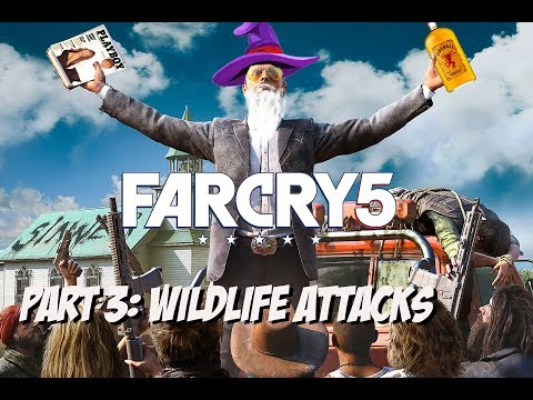 Far Cry 5 part 3: Wildlife attacks