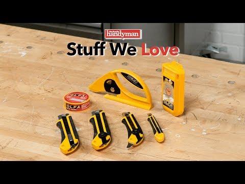 Stuff We Love: Olfa X-Design Utility Knives