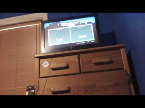 Minecraft PS3 Edition Gameplay Offline Mode Part 1 playing on the tutorial world