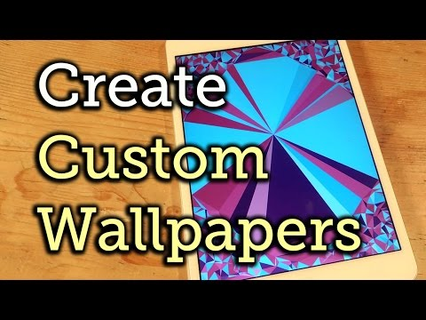 Create Abstract, Polygon-Shaped Wallpapers in iOS - iPad, iPhone, iPod touch [How-To]