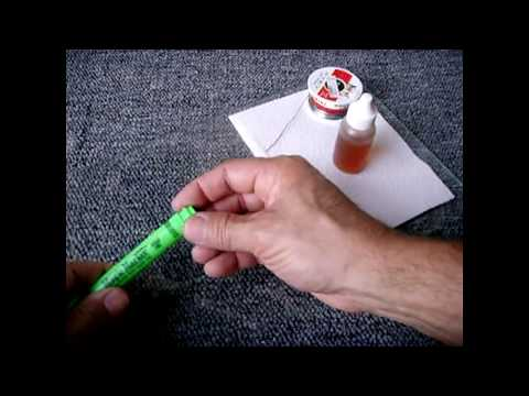 DIY Homemade Refillable Flux Pen