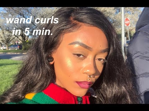 WAND CURLS IN 5 MIN. | WIGGINS HAIR