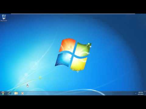 Password Reset for Windows 7 or Windows Vista
