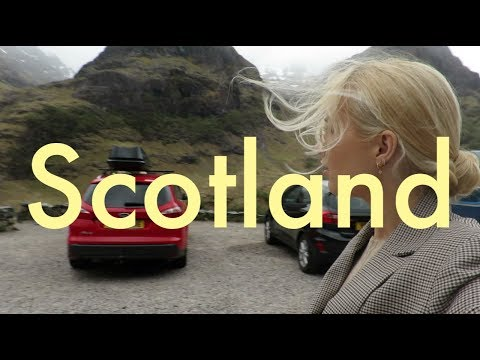 SCOTLAND Vlog: GLASGOW. HIGHLANDS. EDINBURGH!