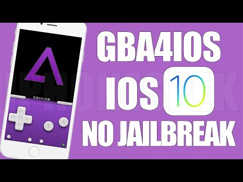 How to get GBA4IOS 2.1 iOS 10 No Jailbreak iPhone iPad iPod Touch Game Boy Advance Emulator