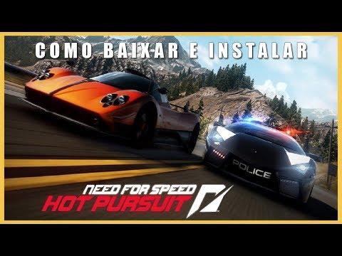Como Baixar e Instalar Need For Speed Hot Pursuit PC Em Português Atualizado 2018