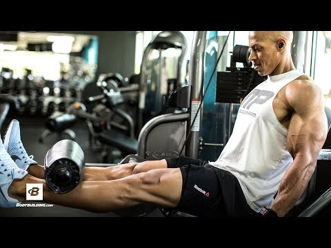 Quad-Defining Leg Routine | Larry Edwards