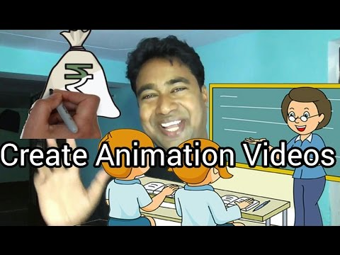 3 Best Software's to Create White Board  Animation Videos !! Demo
