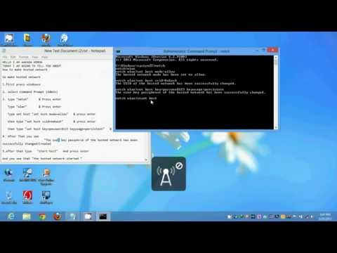 How To Make Hotspot in PC Laptop Computer & How to Share Pc Connected internet over wifi