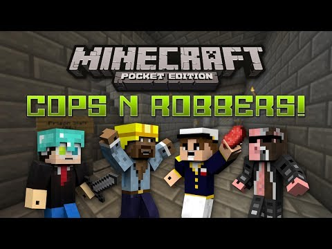Cops N Robbers w/ Jack, Ace, Nexy [#1] - Minecraft Pocket Edition