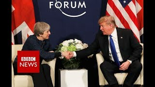 Donald Trump: US and UK are joined at the hip - BBC News