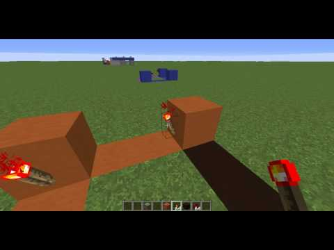 How to make a Redstone Circuit Clock in 1 MINUTE! EASY tutorial!