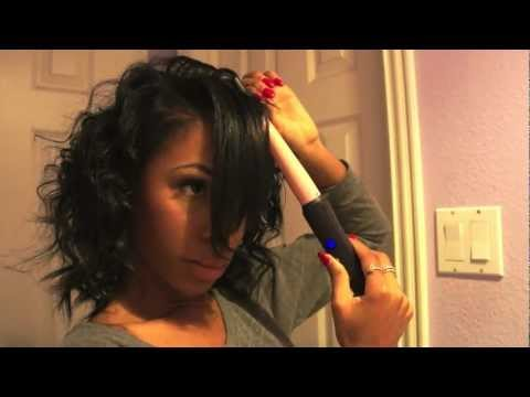 Get Ready With Me - How To Curl Hair With a Curling Wand