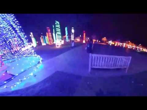 beaverton christmas lights 360 camera! (live vlogmas day nine)