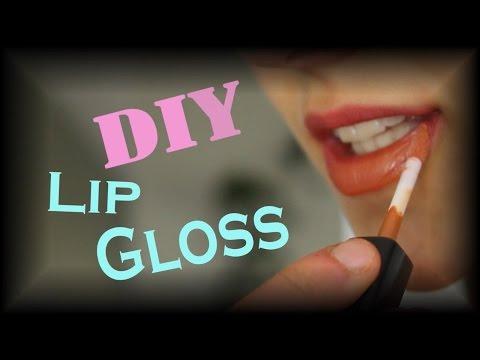 DIY: Easy 2 Step Lip Gloss at Home! Natural, Organic, Healthy!