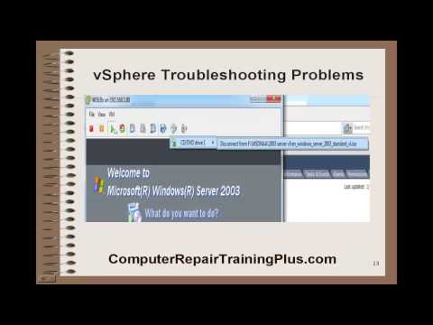 vSphere Troubleshooting Problems