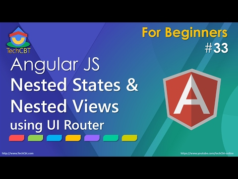 AngularJs UI-Router: Nested States and Nested Views