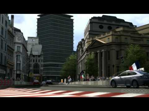 Gran Turismo 5 Lancia Delta in London