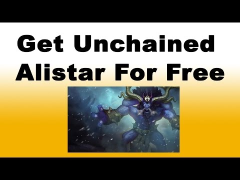 How to Get Alistar and Unchained Alistar Skin for Free in League of Legends