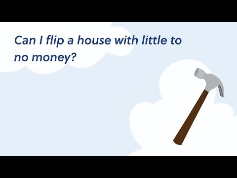 Can I flip a house with no job and little to no money?