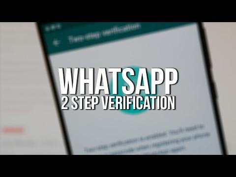 How To Enable WhatsApp 2 Step Verification : Hide WhatsApp Chat