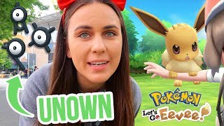 PAX AUS UNOWN EVENT! & Trying Pokémon Let