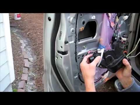 2005 Highlander Door Lock Repair - Actuator and/or $6 Motor Replacement