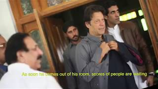 A day in life of Imran Khan