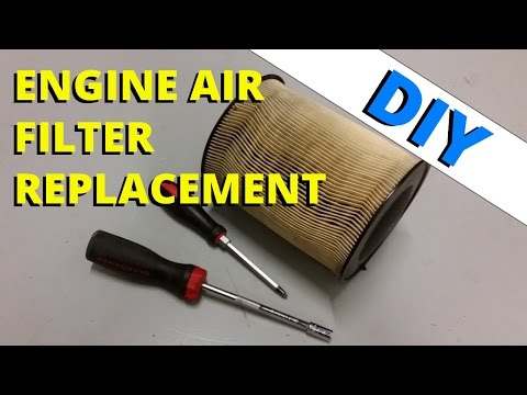 Replacing Your Engine Air Filter: HOW TO ESCAPE