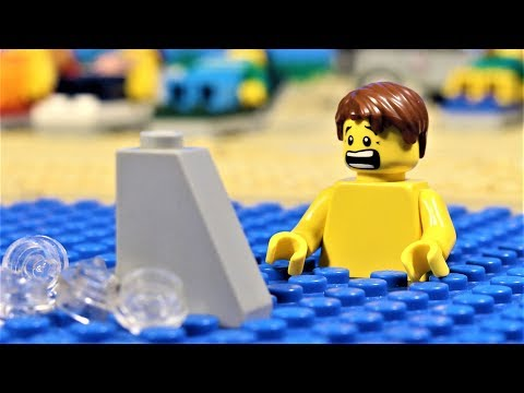 Lego Shark Attack  - stop motion