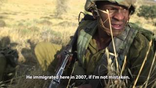 Inspiring Close-up on Ethiopian Israeli Recruit to IDF Paratroopers -