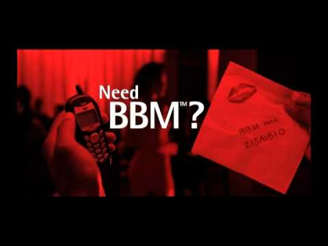 Need BBM?