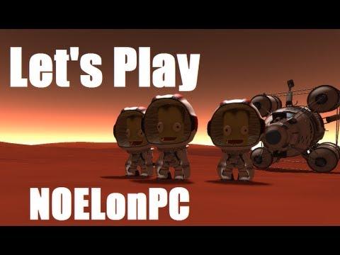 Let's Play Kerbal Space Program - Mission to Mars - Ep5 - NOELonPC - Duna