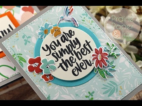 SSS Quick & Easy Sentiment Cards | May 2018 Card Kit