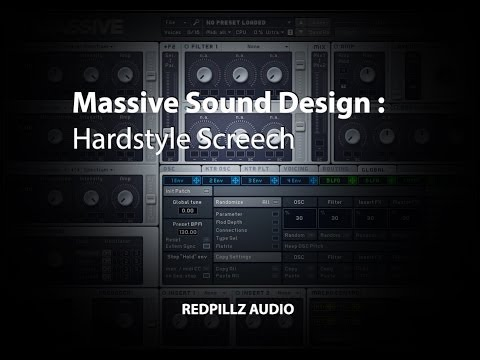 Massive - How to make Hardstyle Screech Free Download