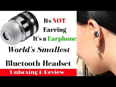 Hindi | World's Smallest Bluetooth headset ZB DOT | Sharmaji Technical