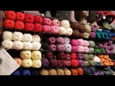 Yarn Shopping at