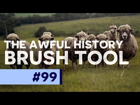 The Awful History Brush Tool in Adobe Photoshop
