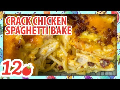 How to Make: Cheesy Crack Chicken Spaghetti Bake